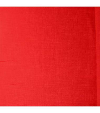 Coton léger rouge