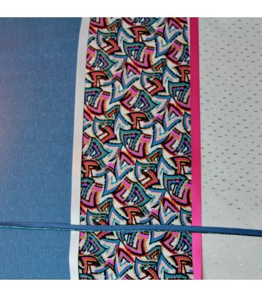 Kit foulard triangle Bermudes