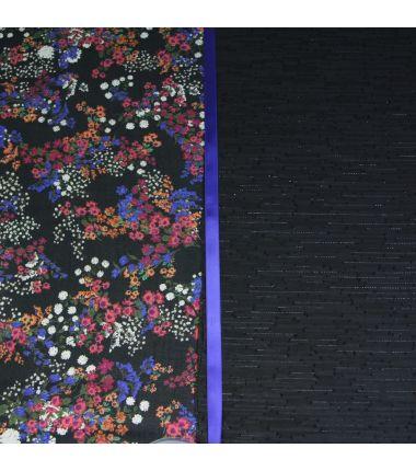 Kit foulard triangle fleurs...