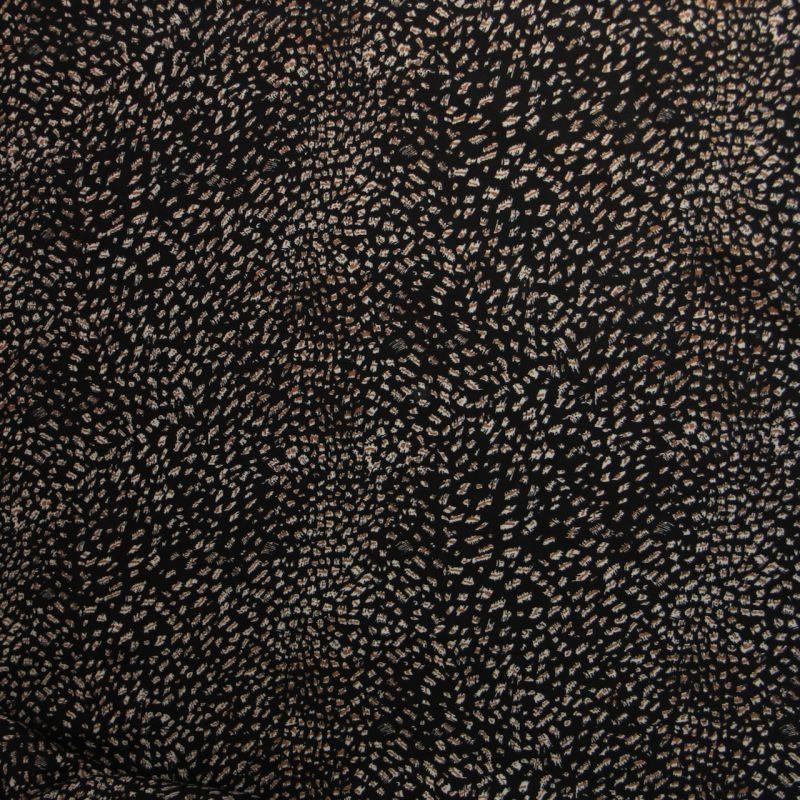 Viscose Guépard noire