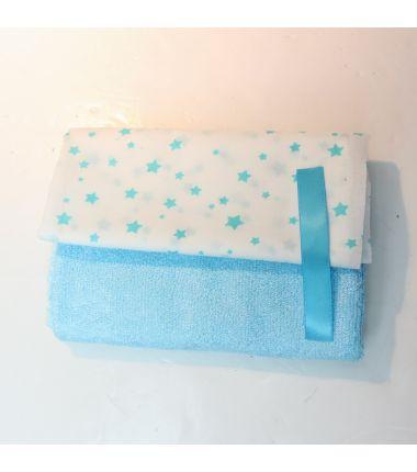 Kit lingettes bleu