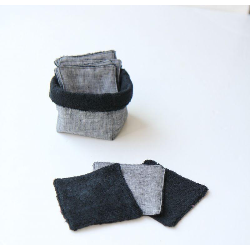 Kit lingettes noir