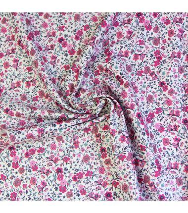 Coton fleuri fuchsia