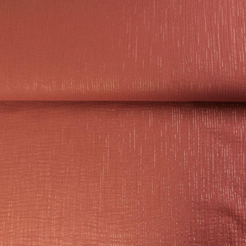 Double lignée glitter rouille