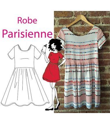 Patron Robe parisienne 38