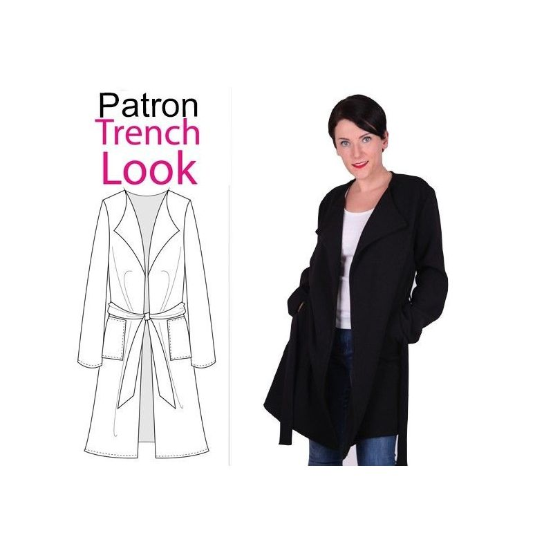 Patron Trench Look 44