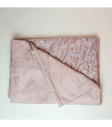 Kit essuie de plage rose...