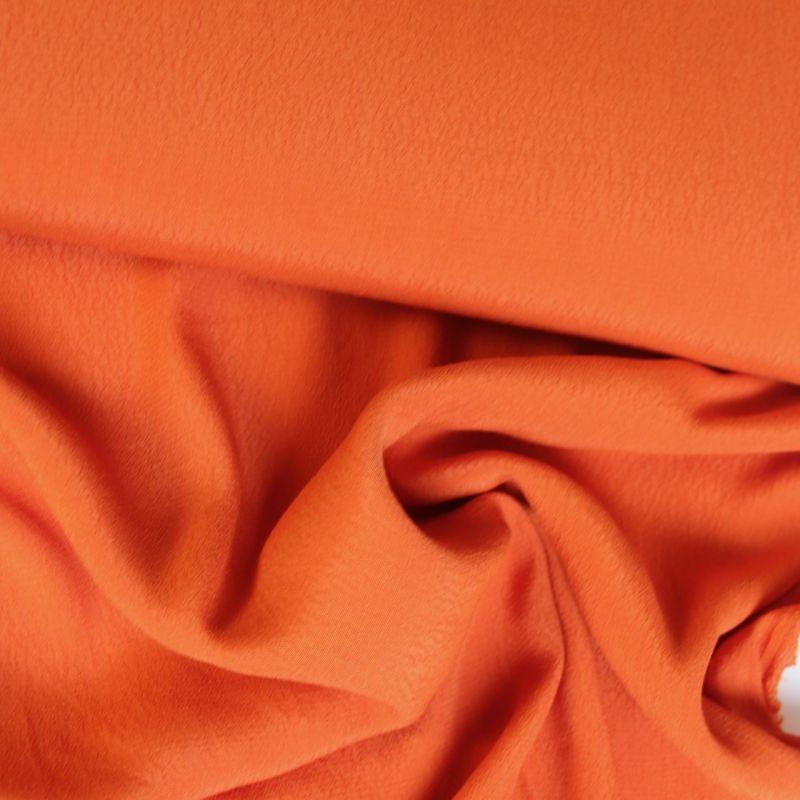 Crêpe orange unie