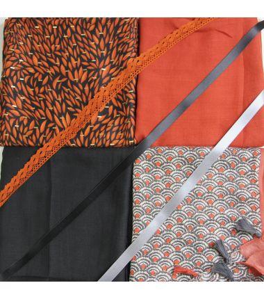 Kit grand foulard carré 9