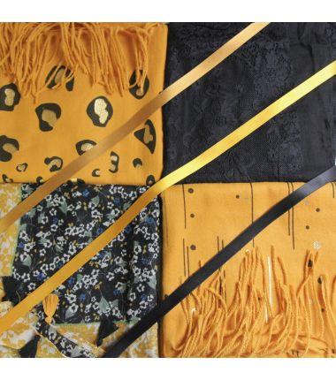 Kit grote vierkante sjaal 10