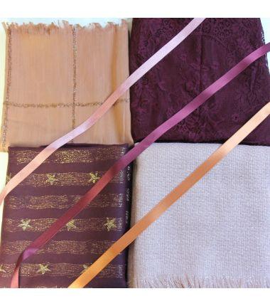 Kit grand foulard carré 15
