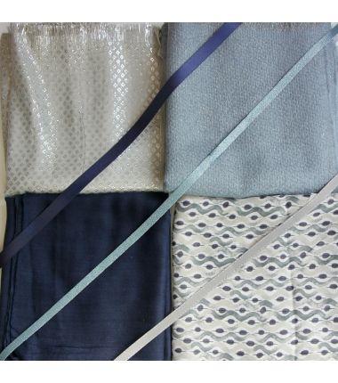 Kit grand foulard carré 22