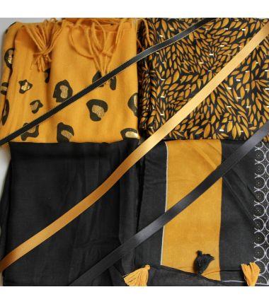 Kit grand foulard carré 30