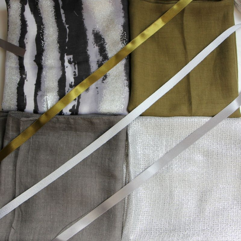 Kit grand foulard carré 28