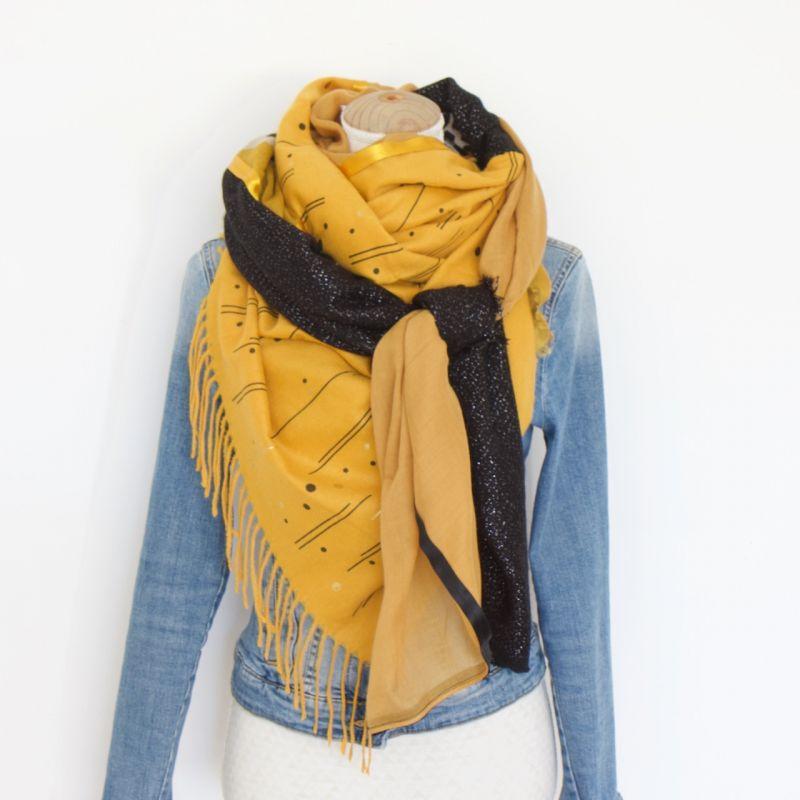Kit grand foulard carré 39